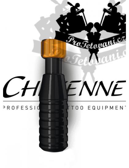 Originální tetovací grip CHEYENNE BLACK 21 mm