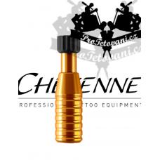 Original CHEYENNE ORANGE tattoo grip 22 mm