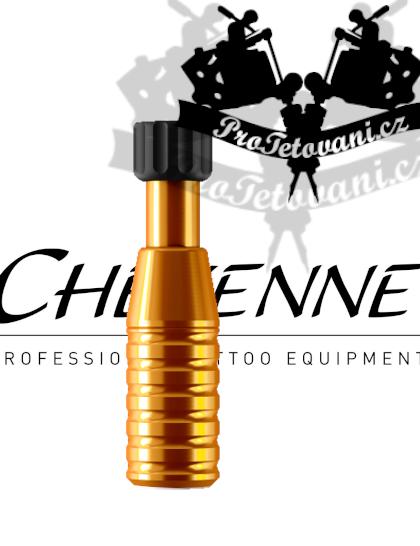 Originální tetovací grip CHEYENNE ORANGE 22 mm
