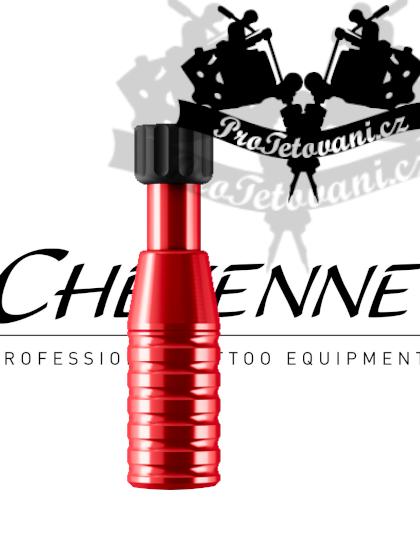 Originální tetovací grip CHEYENNE RED 22 mm
