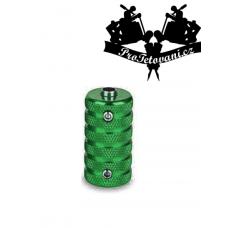 Tattoo grip and tube 25 mm anti-slip green