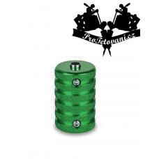 Tattoo grip and tube 30 mm anti-slip green