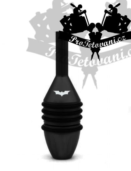Tetovací grip BATMAN black pro klasické strojky