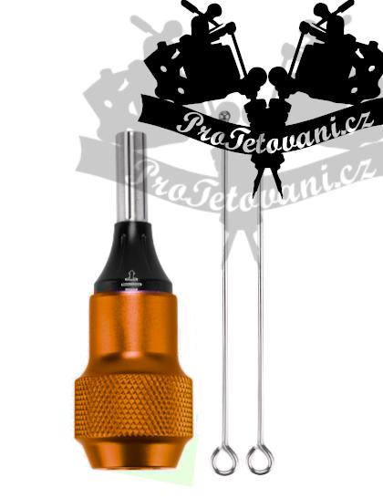 Tetovací grip H2 orange pro tetovací cartridge