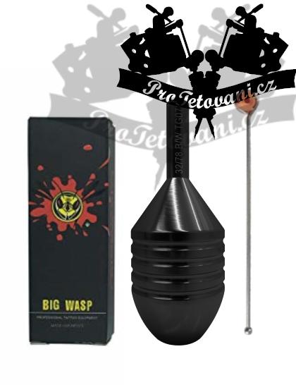 Tetovací grip na cartridge BIGWASP HIVE BLACK