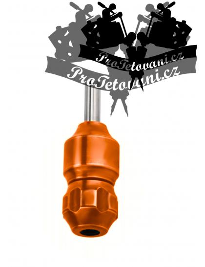 Tetovací grip s tubusem Machine Orange