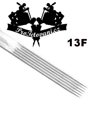 Tetovací jehla Flat 13 F13