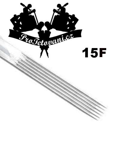 Tetovací jehla Flat 15 F15