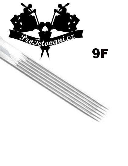 Tetovací jehla Flat 9 F9