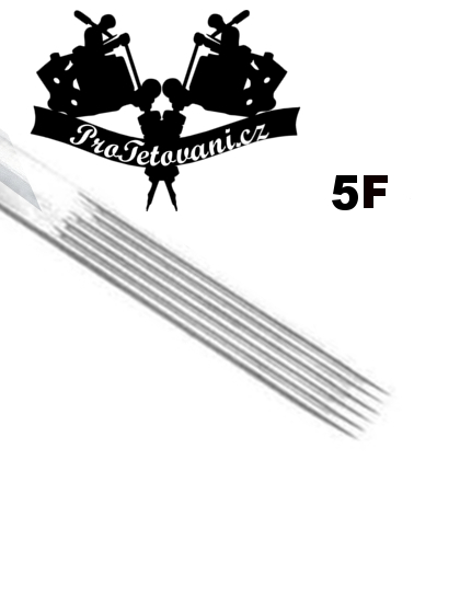 Tetovací jehla Flat 5 F5