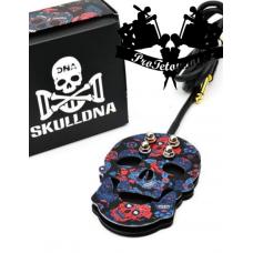 Premium funky skull tattoo foot switch