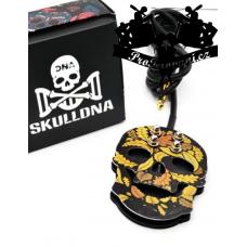 Premium funky Skull Leaf tattoo foot switch