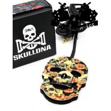 Premium funky skull Rose tattoo foot switch
