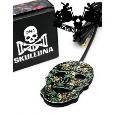 Premium funky skull Weed tattoo foot switch