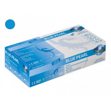 Nitrile gloves suitable for tattoo BLUE PEARL SIZE L