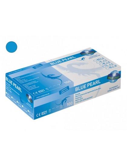 Nitrilové rukavice vhodné pro tetování BLUE PEARL VELIKOST XL