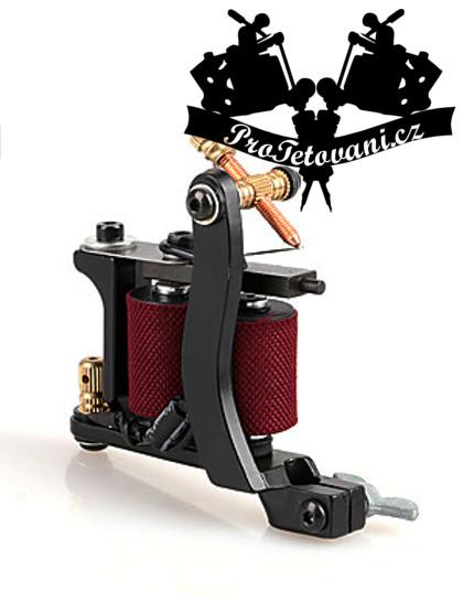 Tetovací strojek cívkový Black Vine a tetovací grip