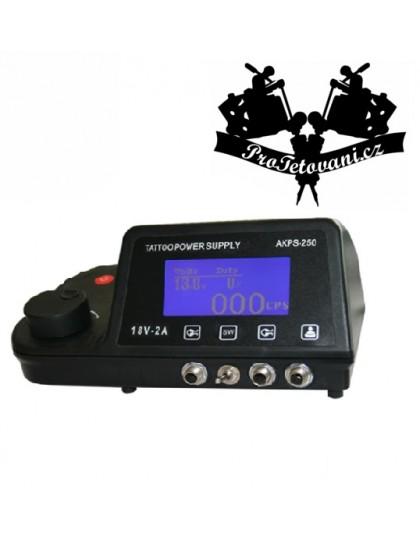 Duální LCD tetovací zdroj EET pro tetování