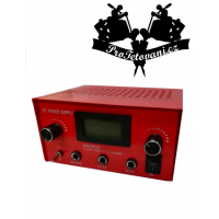 Dual LCD Power supply for RED tattoos