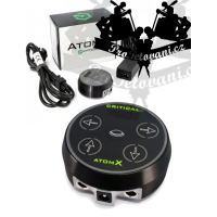 Original tattoo power supply CRITICAL ATOMX BLACK