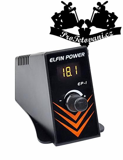 LCD tetovací zdroj Elfin