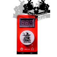 Tattoo power supply WIZARD POWER RED
