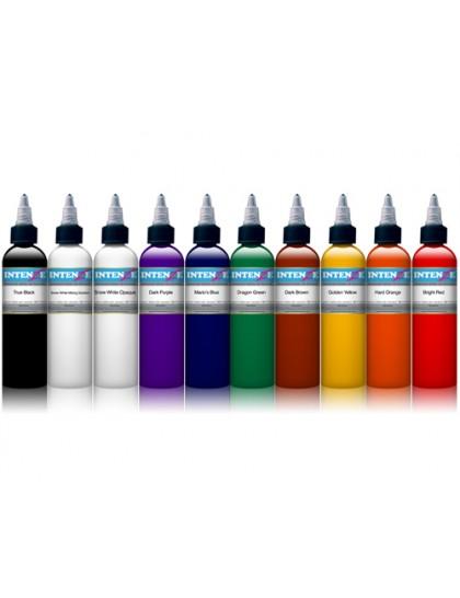 Set tetovacích barev Intenze 10 barev v sadě