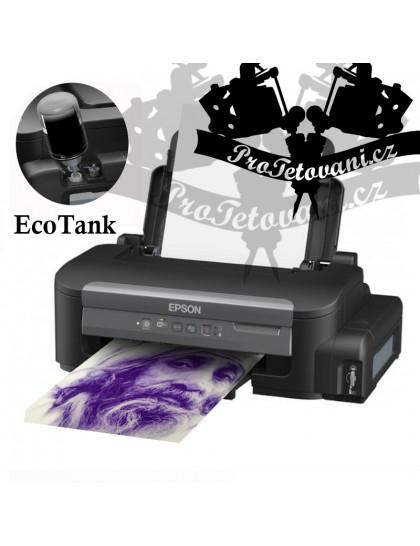 Tiskárna Epson EcoTank pro přenos tetovacích motivů pomocí Stencil printer ink