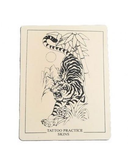 Trénovací tetovací kůže tygr