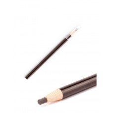 Eyebrow pencil for permanent make-up and microblading Brown