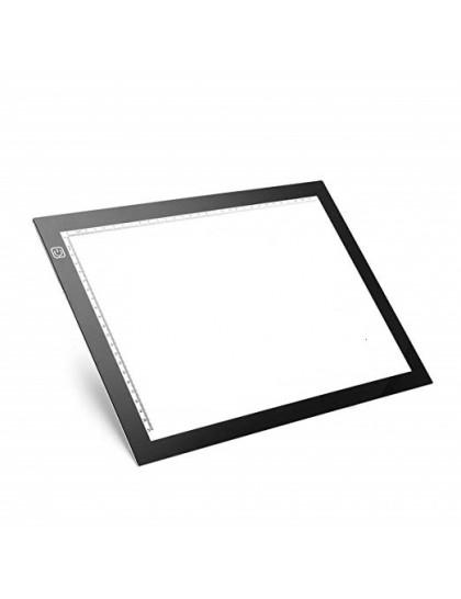 Tvrzená LED světelná deska pro obkreslování motivů