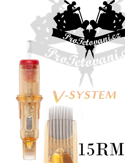 Tetovací cartridge EZ V-SELECT 15RM
