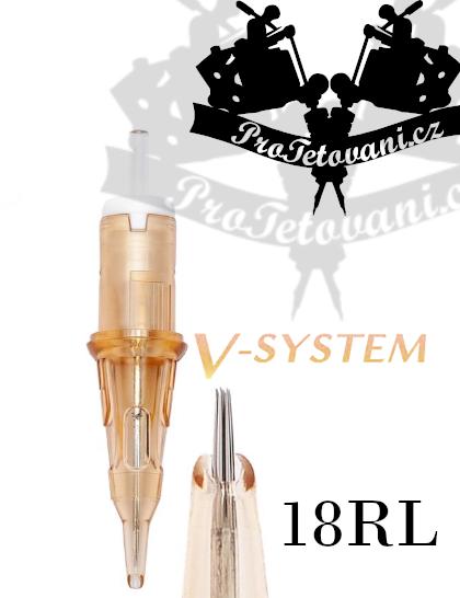 Tetovací cartridge EZ V-SELECT 18RL
