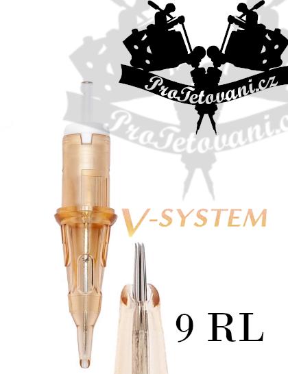Tetovací cartridge EZ V-SELECT 9RL