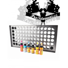 Large easel holder for tattoo colors