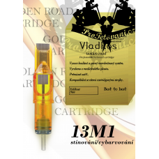 Professional tattoo cartridge Vladkos Golden Road 13M