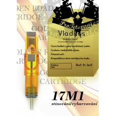 Professional tattoo cartridge Vladkos Golden Road 17M