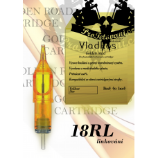 Professional tattoo cartridge Vladkos Golden Road 18RL