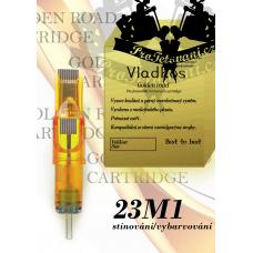 Professional tattoo cartridge Vladkos Golden Road 23M