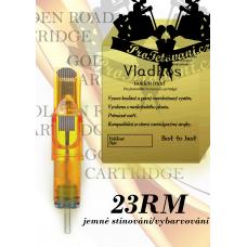 Professional tattoo cartridge Vladkos Golden Road 23RM