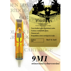 Professional tattoo cartridge Vladkos Golden Road 9M