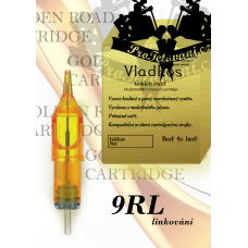 Professional tattoo cartridge Vladkos Golden Road 9RL