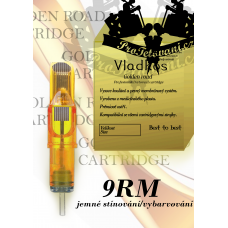 Professional tattoo cartridge Vladkos Golden Road 9RM