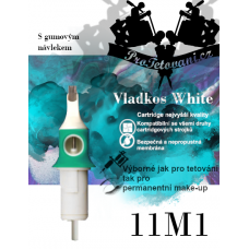 Vladkos White tattoo cartridge with 11M1 sleeve