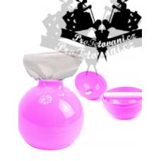 Pink bomb tattoo napkin dispenser