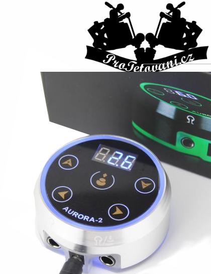 Tetovací zdroj Neon II s displejem svítící