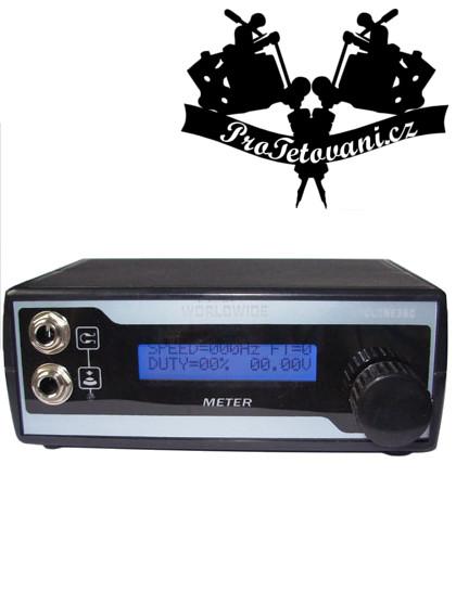 Tetovací zdroj Radio LCD